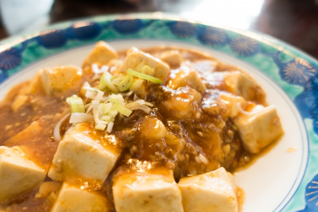 麻婆豆腐の冷蔵保存