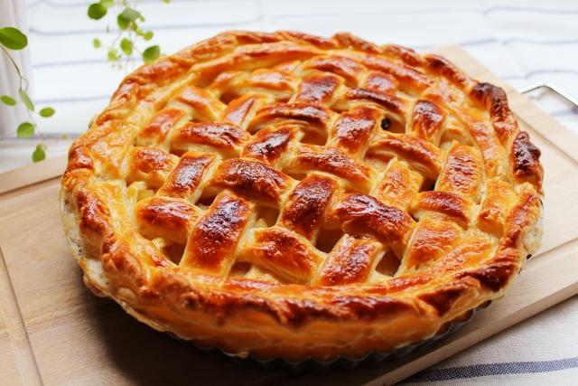 冷凍りんごをおいしく食べる方法りんごパイ