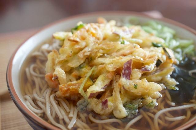 天ぷらうどんは天ぷらをおいしく食べる方法
