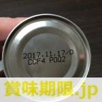 缶詰の賞味期限・消費期限について
