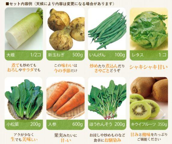 手に入る有機野菜