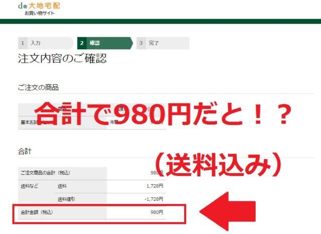 送料込みで980円
