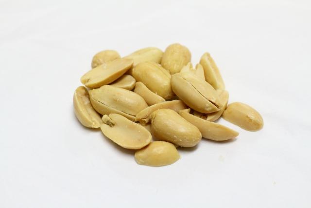 ピーナッツの調理