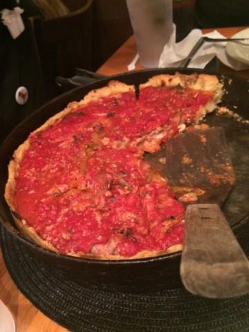 シカゴ風ピザ