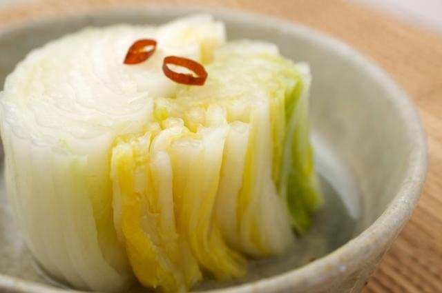 白菜の浅漬けの賞味期限