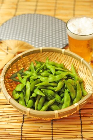 枝豆はビールと合う
