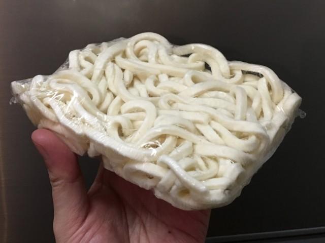 冷凍うどんのメリット