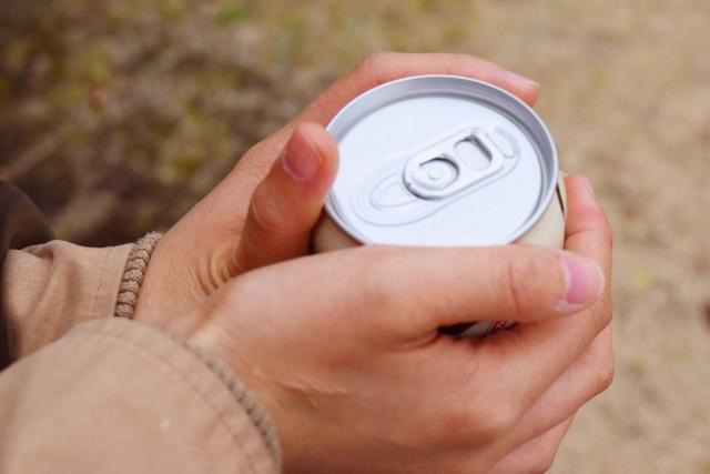 缶コーヒーの冷凍