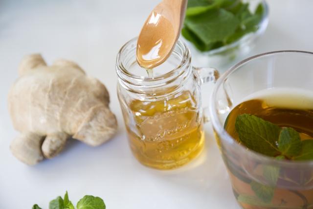 蜂蜜と生姜とたまご