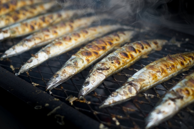 秋刀魚祭りと賞味期限