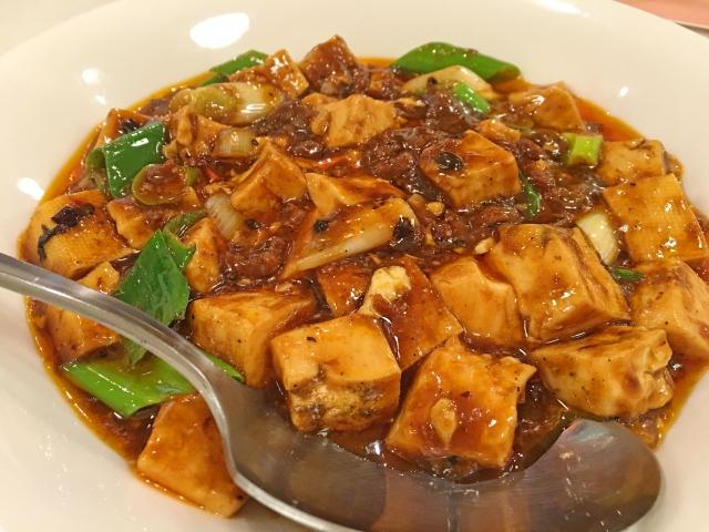麻婆豆腐に豆板醤