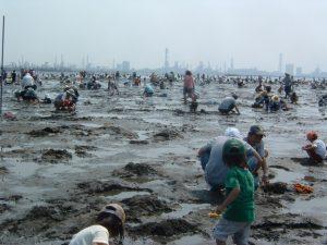 あさりは育っている環境にすると砂を吐く