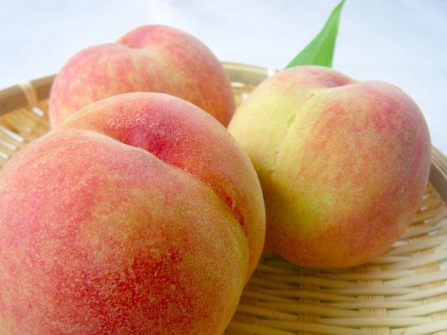 新鮮な桃の日持ち