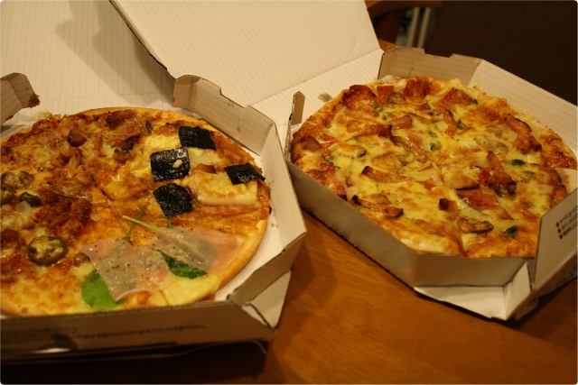宅配ピザとは