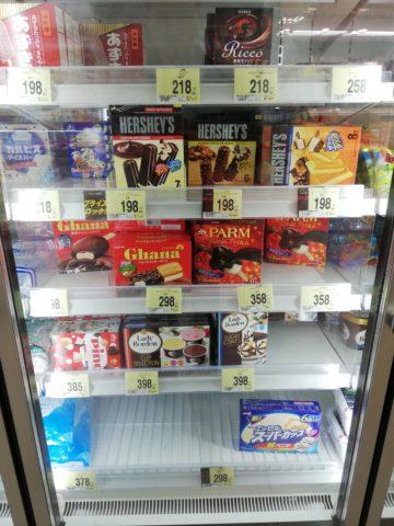 アイスクリームには賞味期限がない