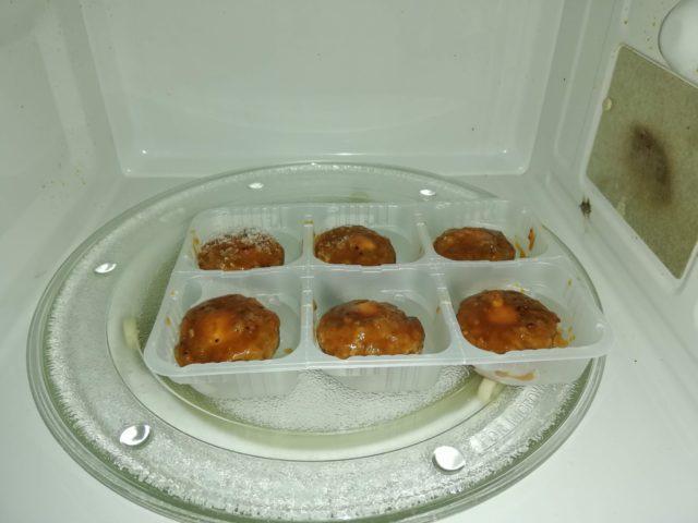 冷凍ハンバーグの解凍