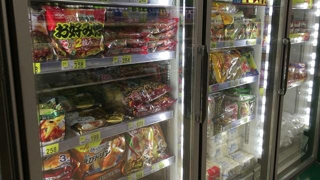 一度溶けた冷凍食品