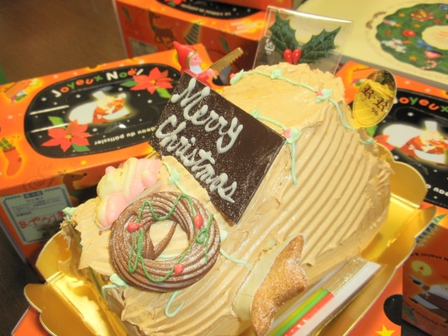 クリスマスケーキの冷凍保存